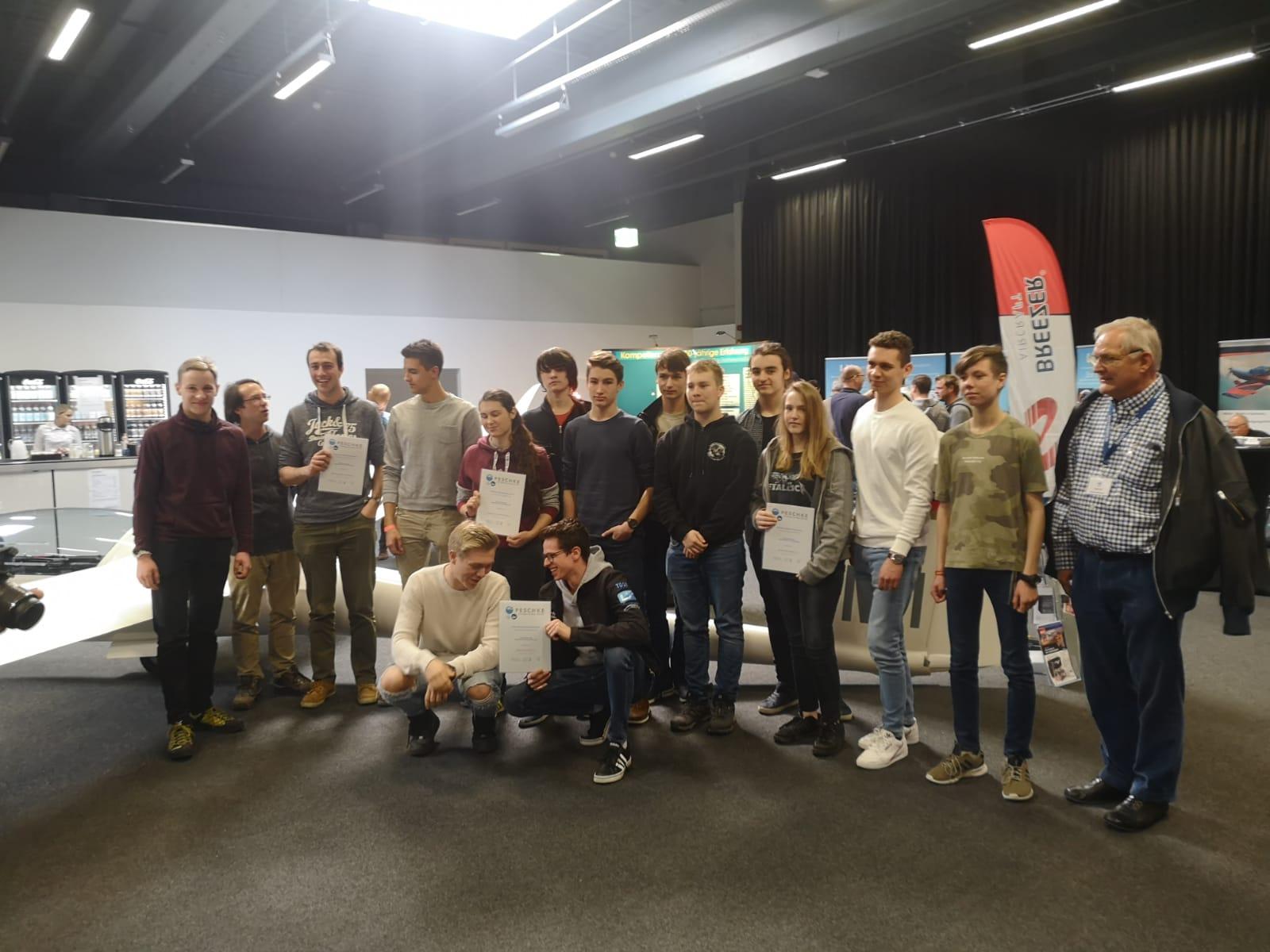 Verleihung des Peschke Jugendförderpreis 2019