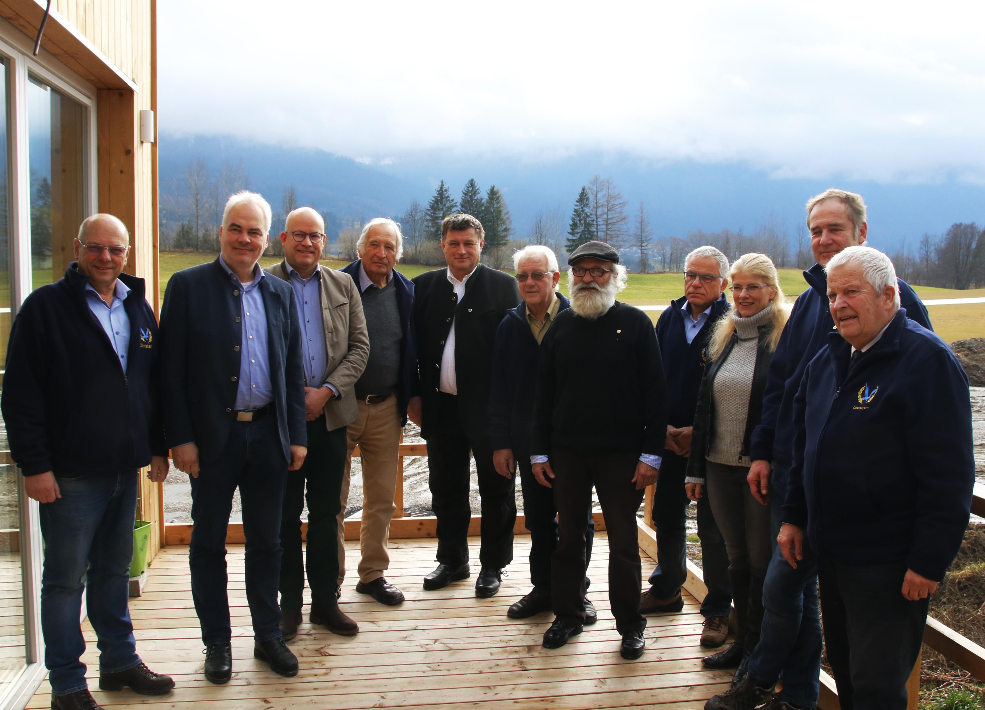 Langjährige Mitglieder der Luftrettungsstaffel geehrt